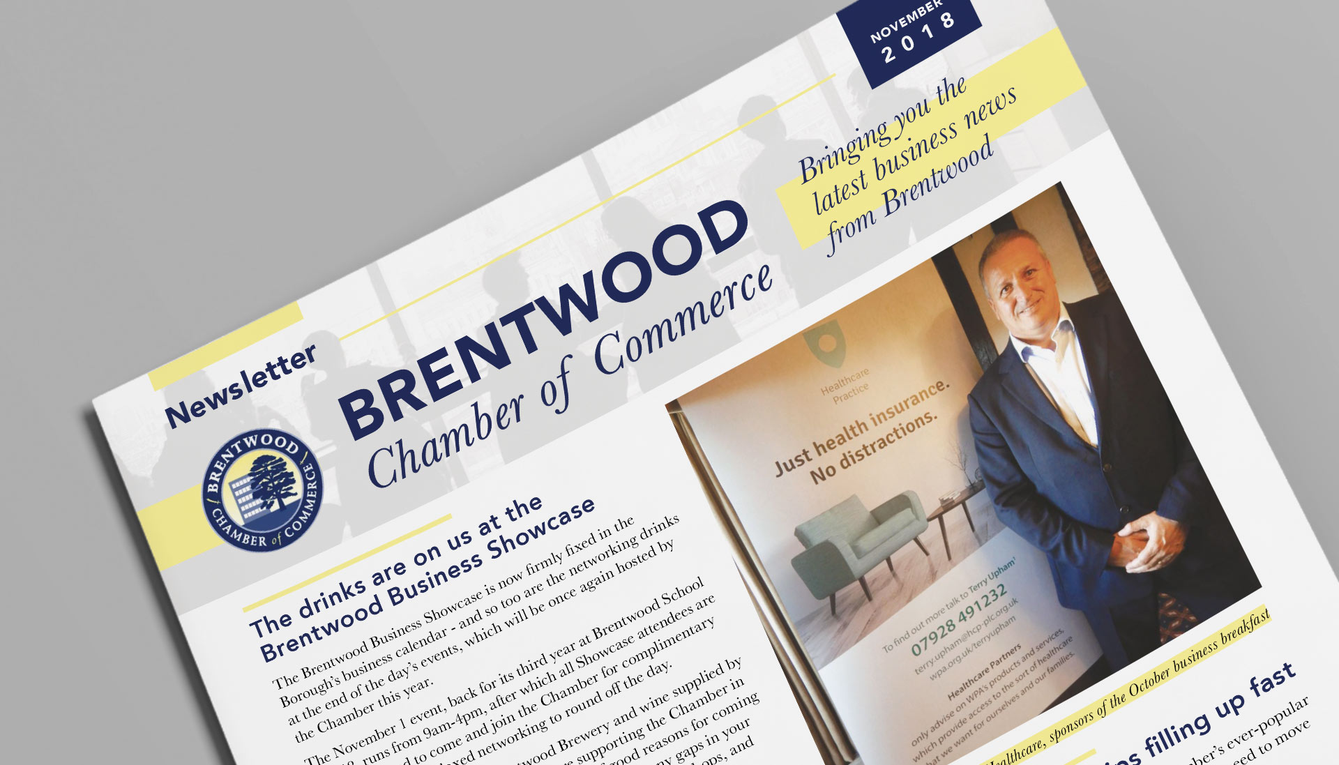 brentwood chamber of commerce graphic design