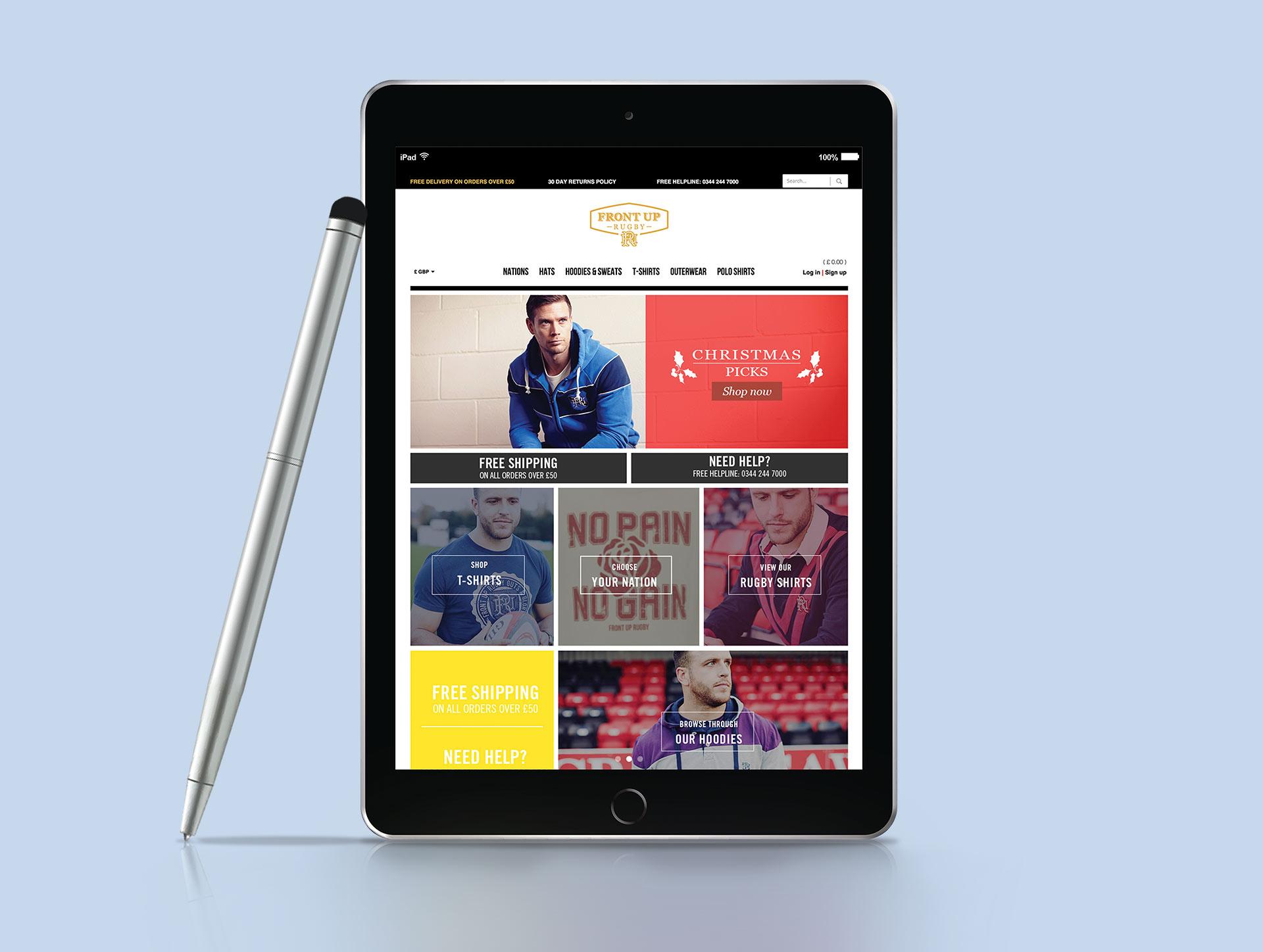 front-up-website-design